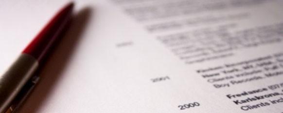 ¿Cómo redactar un buen currículum?